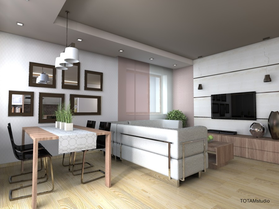 02 kuchnia otwarta na salon -> Otwarta Kuchnia Z Jadalnią I Salonem