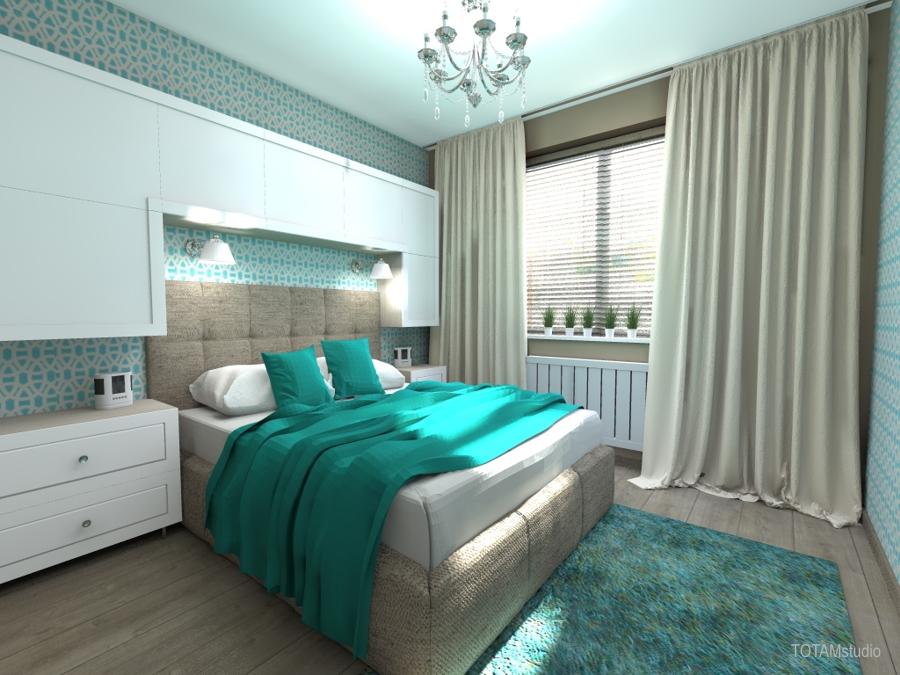projekt sypialni 01